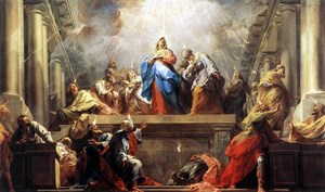 PENTECOST -  Jean Restout- 1732