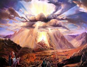 SHAVUOT AT SINAI - Unknown