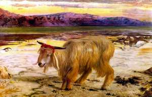 THE SCAPEGOAT - William Holman Hunt, 1854